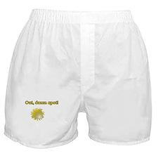 Out Damn Spot Boxer Shorts