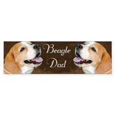 Beagle Dad Dog  Bumper Sticker