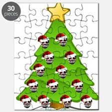 Monster Christmas Tree Puzzle