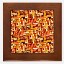 Autumn Weave Framed Tile