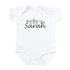 Sarah in ASL Infant Bodysuit