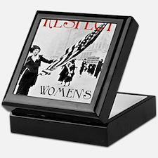 Respect Womens Rights2 Keepsake Box