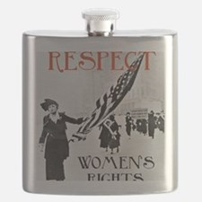 Respect Womens Rights2 Flask