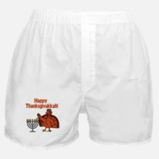 Happy Thanksukkah 2 Boxer Shorts