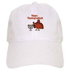 Happy Thanksukkah 2 Baseball Baseball Cap