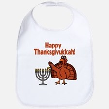 Happy Thanksukkah 2 Bib