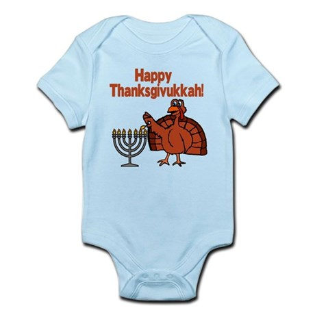 Happy Thanksukkah 2 Body Suit