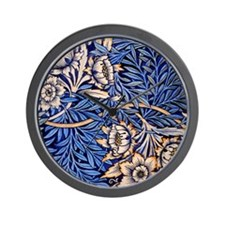 William Morris design: Tulip and Willow Wall Clock