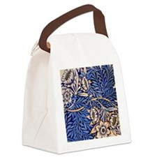 William Morris design: Tulip and  Canvas Lunch Bag