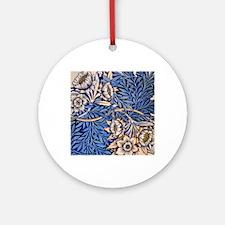 William Morris design: Tulip and Wi Round Ornament