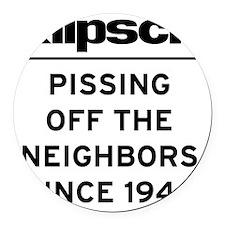 neighbors_klipsch Round Car Magnet