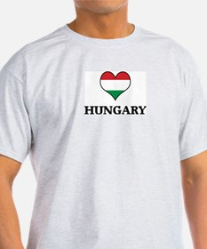 Hungary heart T-Shirt