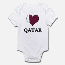 Qatar heart Infant Bodysuit