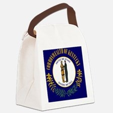 2000px-Flag_of_Kentucky_svg Canvas Lunch Bag