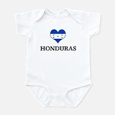Honduras heart Infant Bodysuit