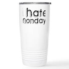 I Hate Mondays Ceramic Travel Mug