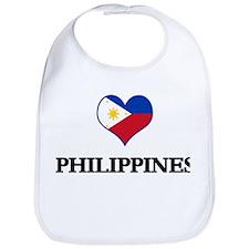 Philippines heart Bib