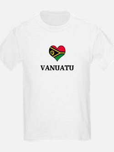 Vanuatu heart Kids T-Shirt