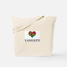 Vanuatu heart Tote Bag