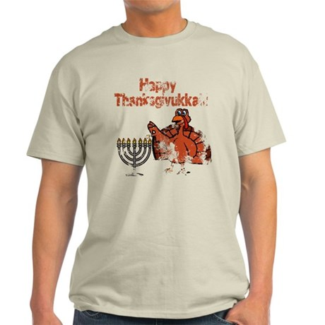 Distressed Happy Thanksukkah 2 T-Shirt