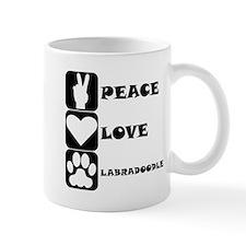 Peace Love Labradoodle Mugs