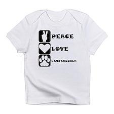 Peace Love Labradoodle Infant T-Shirt