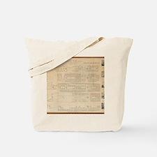 Titanic PLAN 1ST CLASS BIG Tote Bag