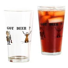 GOT DEER? Drinking Glass