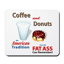 Coffee & Donuts Mousepad