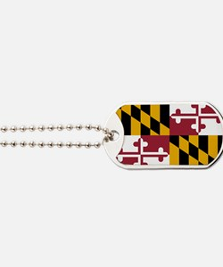 2000px-Flag_of_Maryland_svg Dog Tags