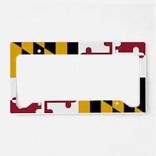 2000px-Flag_of_Maryland_svg License Plate Holder