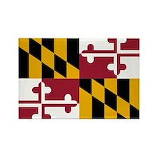 2000px-Flag_of_Maryland_svg Rectangle Magnet
