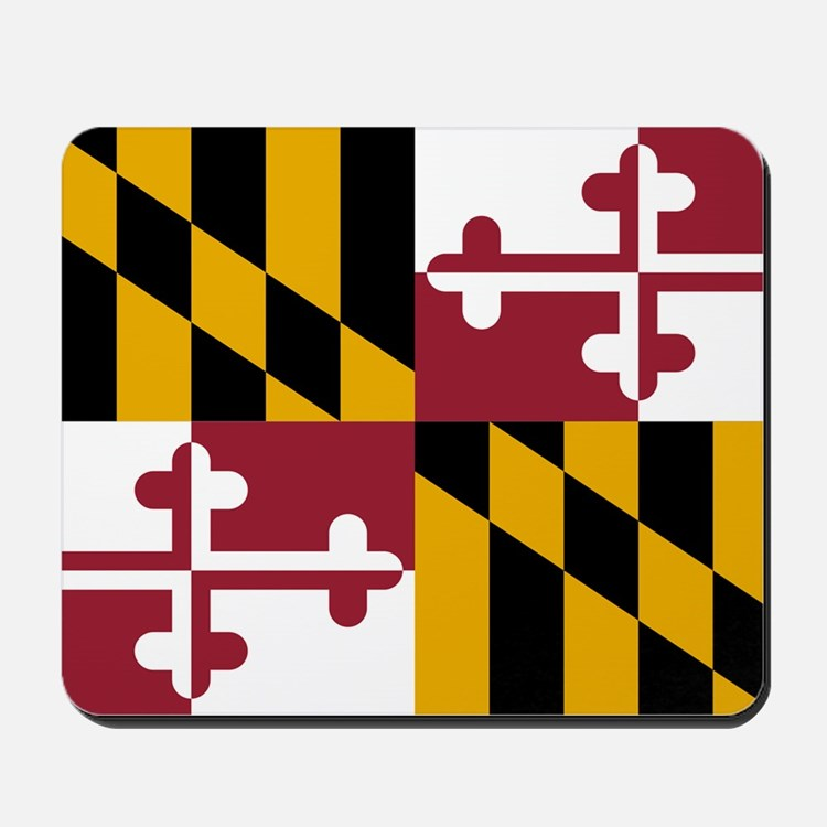 2000px-Flag_of_Maryland_svg Mousepad