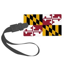 2000px-Flag_of_Maryland_svg Luggage Tag