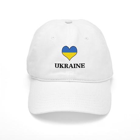 Ukraine heart Cap