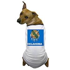 2000px-Flag_of_Oklahoma_svg Dog T-Shirt