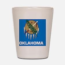 2000px-Flag_of_Oklahoma_svg Shot Glass