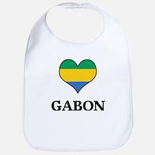 Gabon heart Bib