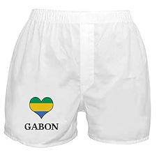 Gabon heart Boxer Shorts
