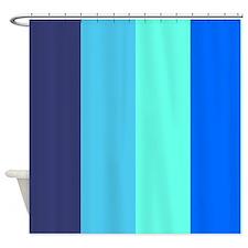 Big Stripe Cool Shower Curtain