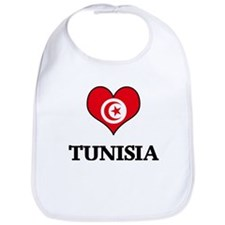 Tunisia heart Bib