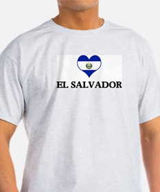 El Salvador heart T-Shirt