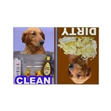 Dishwasher -RecMag -GoldenRetriever Magnets
