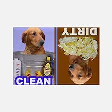 Dishwasher -RecMag -GoldenRetriever Magnets
