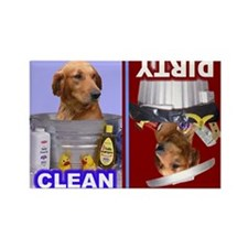 4-3-Dishwasher2 -RecMag -GoldenRetriever Magnets