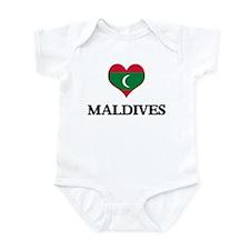 Maldives heart Infant Bodysuit