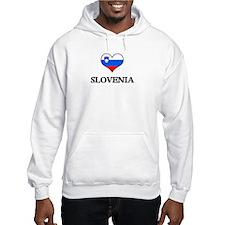 Slovenia heart Hoodie