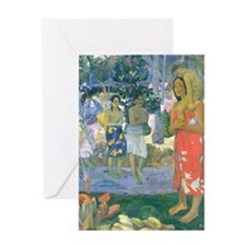 iPad Gauguin Mary Greeting Card
