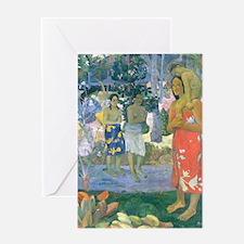 iPad Gauguin Mary Greeting Card