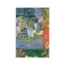 iPad Gauguin Mary Rectangle Magnet